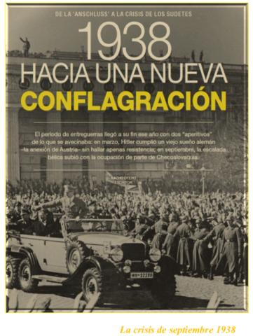 La crisis de septiembre 1938