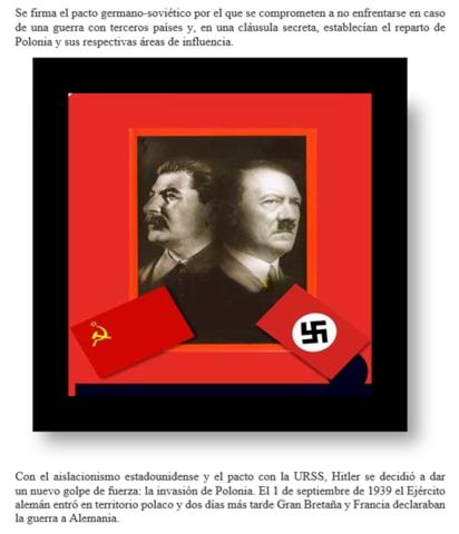 Pacto nazi-soviético, cambio de alianzas
