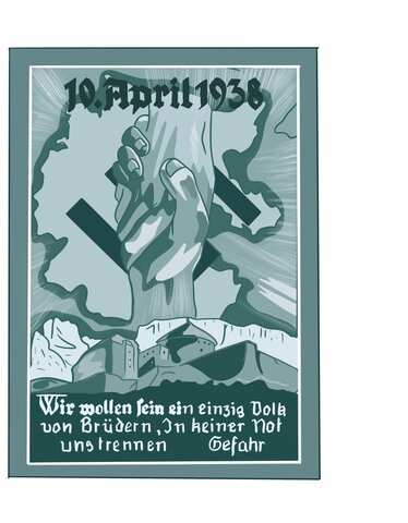 Referendum por la reunificación de Austria (Anschluss) con el Reich alemán