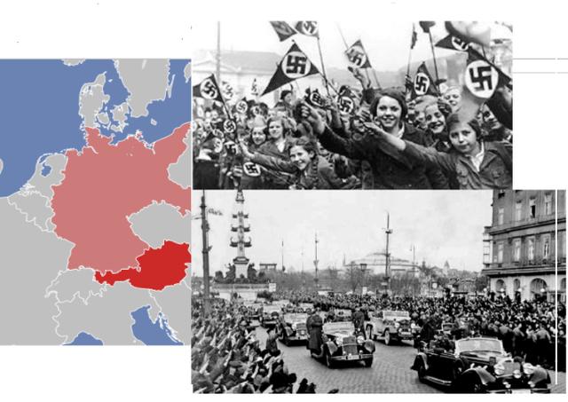 Intento de anexión de Alemania junto a Austria