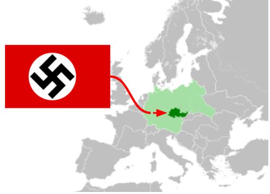 Invasión Alemana de Bohemia Moravia