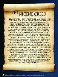 Creation of the Nicene Creed (325 CE)