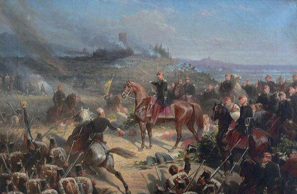 Batalla de Solferino (24/Jun/1859).
