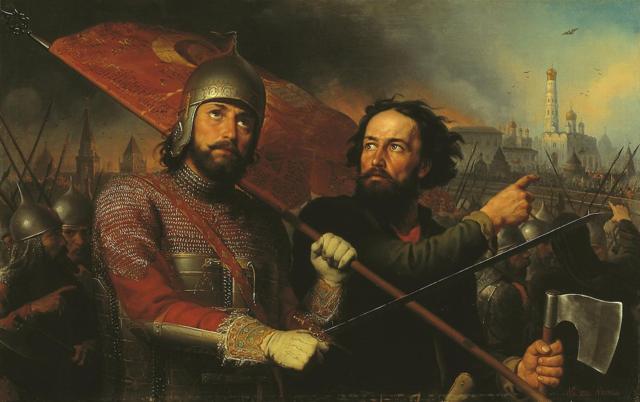 Período turbulento y el vacío del poder Entre el 1598 y el 1610 Rusia vive el período turbulento donde los autoproclamados, falsos y uzurpadores tratan de gobernar el país.