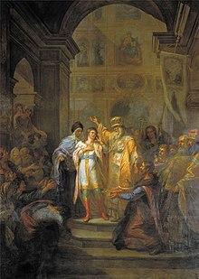 Miguel Romanov se convierte en zar