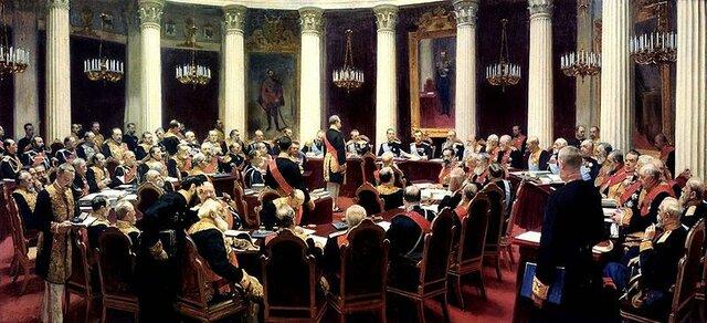 Es creado el consejo de ministros del Imperio Ruso formado por nobles, la iglesia, el ejercito y el mismo emperador, un órgano para la toma de decisiones.