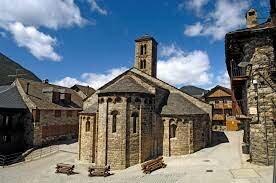Románico: Arquitectura. San Clemente de Tahüll