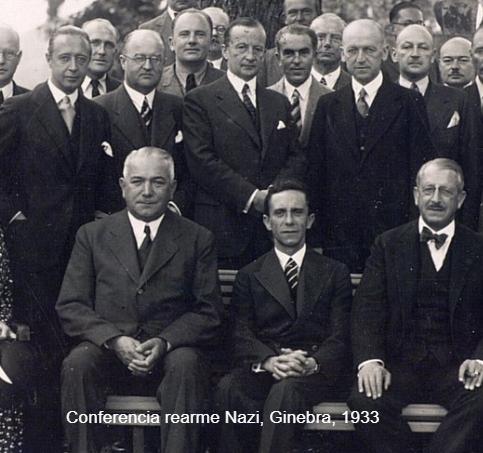 Salida de la sociedad de naciones unidas de Hitler