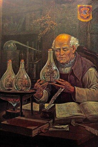 Teofrasto Bombosto von Hohenheim  (1493-1541) Médico y alquimista suizo