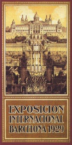 Exposición Universal de Barcelona. 1929