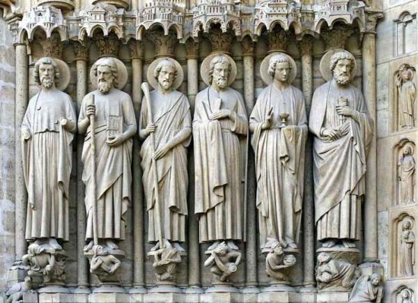 Gótico: Escultura.