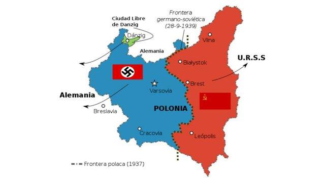 Hitler rompe el pacto que tenía con Polonia desde 1934 y pide la recuperación de Danzig.
