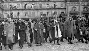 Pastoral de todos los obispos apoyando al nuevo régimen de Franco