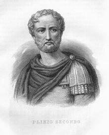 Plinio (20-79 d.C.)