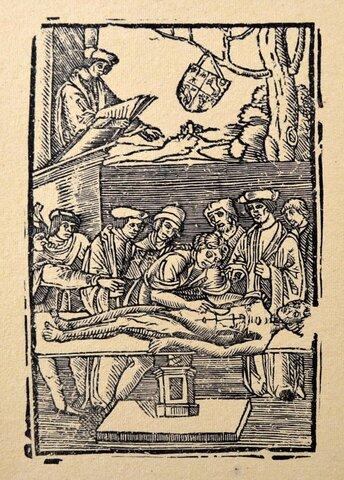 Mondino di Luzzi (1275 - 1326)