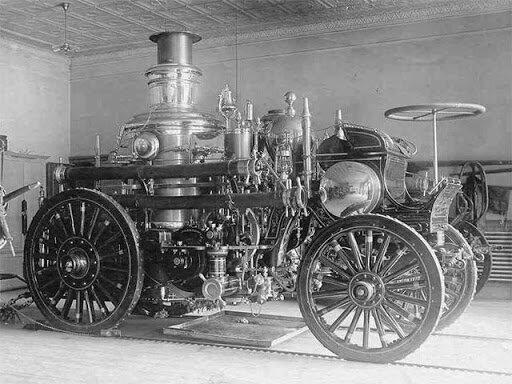 Первая паровая машина - инновации