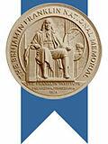 Awarded the Benjamin Franklin Medal by the Franklin Institute