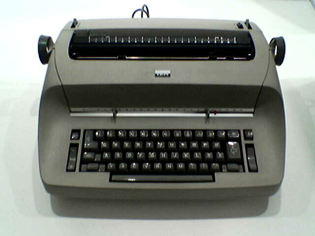 Begins Production of Electric Typewriters