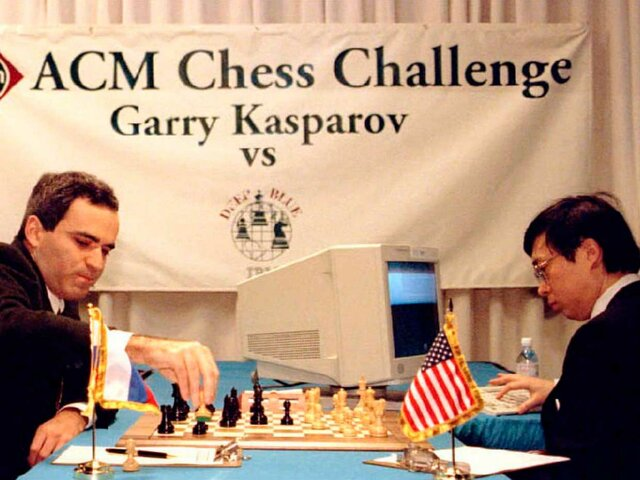 Deep Blue Beats Chess Champion Garry Kasparov