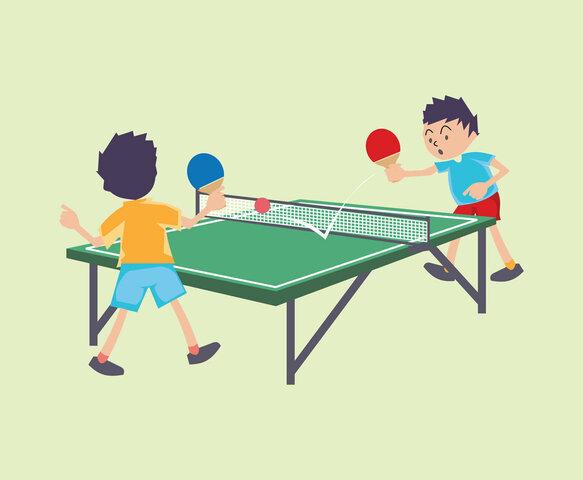 Ping-Pong o Tennis Taula