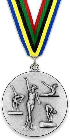 Guanyo la meva primera medalla fent gimnàstica