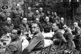 Alzamiento en Melilla del General Yagüe