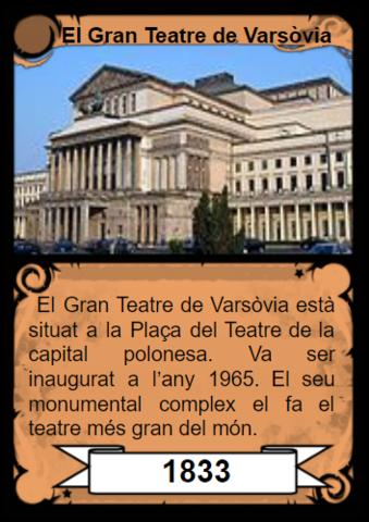 El gran teatre de Varsòvia