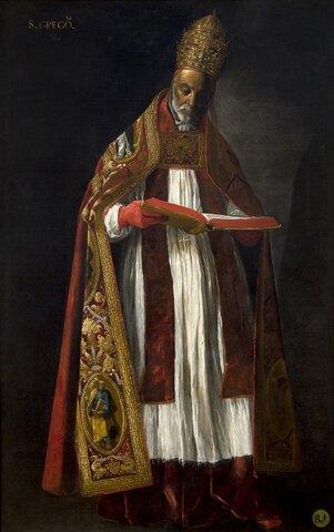 GREGORIO MAGNO (Roma, c. 540- 12 de marzo de 604), Gregorio I o también San Gregorio, fue el sexagésimo cuarto papa de la Iglesia católica. Es uno de los cuatro padres de la Iglesia latina, junto con Jerónimo de Estridón, Agustín  y Ambrosio de Milán.