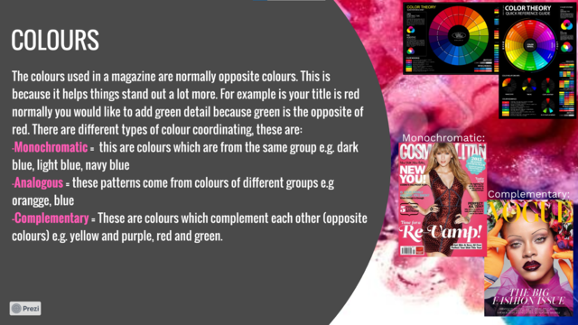 Colour reaserch
