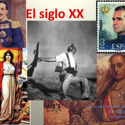ESPAÑA Y NAVARRA SIGLO XX timeline
