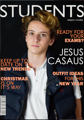 Student Magazine Front cover