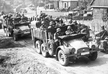 Gran Bretanya i França declaren la guerra a Alemanya.