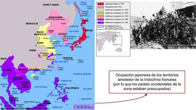 Indochina entera queda en manos de Japón