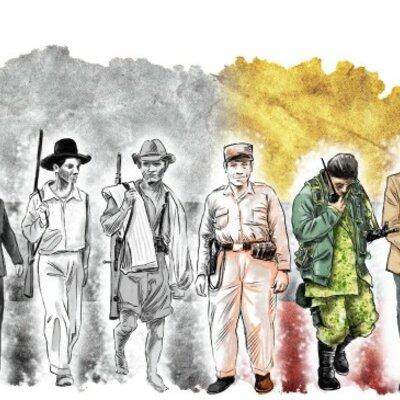 LA VIOLENCIA EN COLOMBIA DESDE 1886 HASTA 1990 timeline