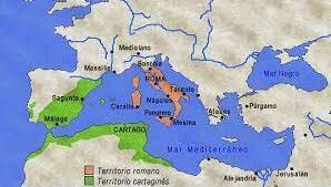 La potencia mediterránea era cartago