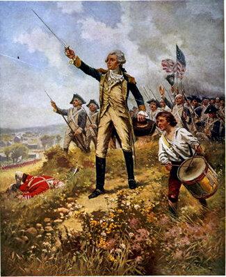 Début de la guerre d'indépendance.