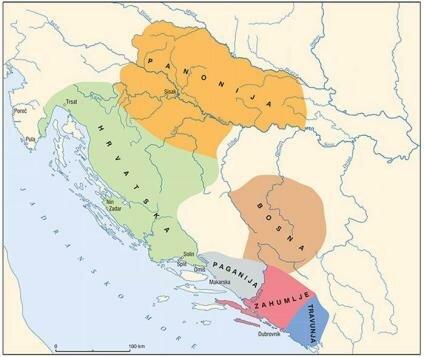 Stvaranje hrvatskih kneževina