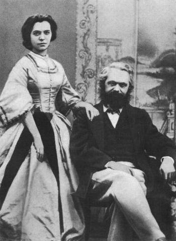 Marx demana la mà de la filla de Westphalen