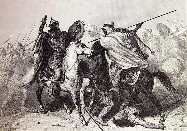 Séc. VI - Invasão árabe