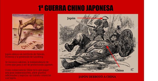 Guerra chino-japonesa 1894-1895