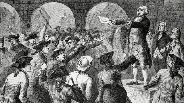 formation des premiers mouvements révolutionnaires