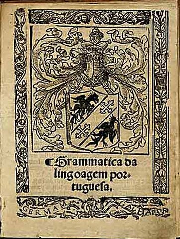 A primeira gramática portuguesa