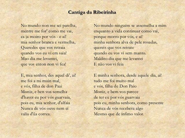 O primeiro texto escrito em língua portuguesa