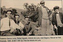 Nacimiento de Federico García Lorca