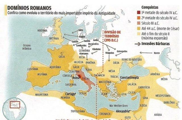 Séc. II a.C. - O Império Romano