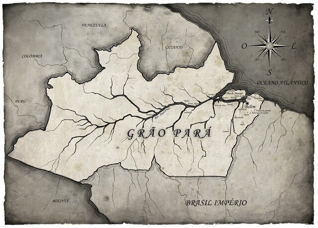 Séc. XVII ao XVIII - Formação linguística na região amazônica