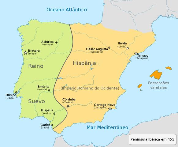 218 a.C. - Romanos invadem a Península Ibérica