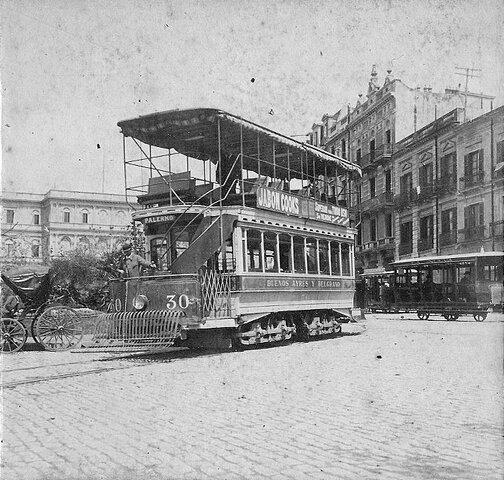 Tramway eléctrico