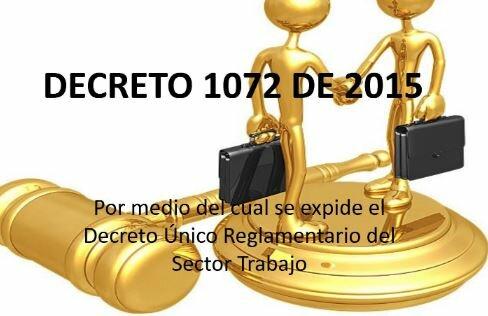 Decreto Único Reglamentario