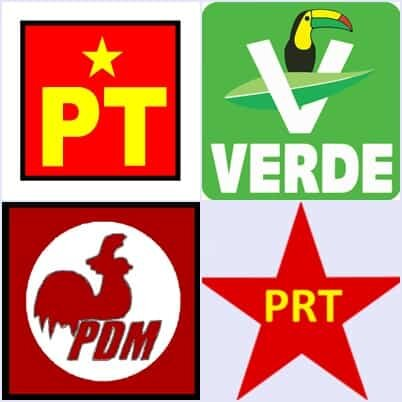 Nuevos partidos políticos.